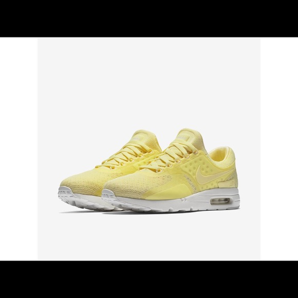 pretty nice 9eece dcf18 Nike Men Air Max Zero Breeze Lemon Chiffon